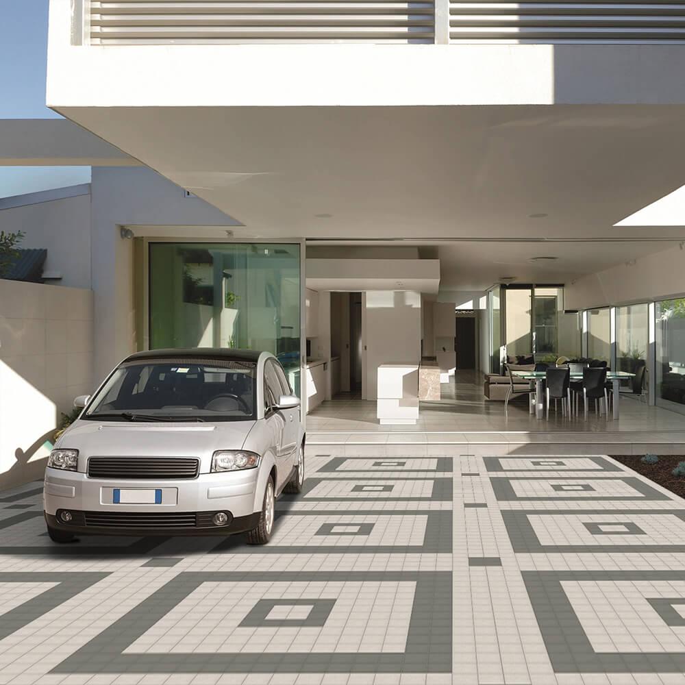 Geometric Look Outdoor Tiles