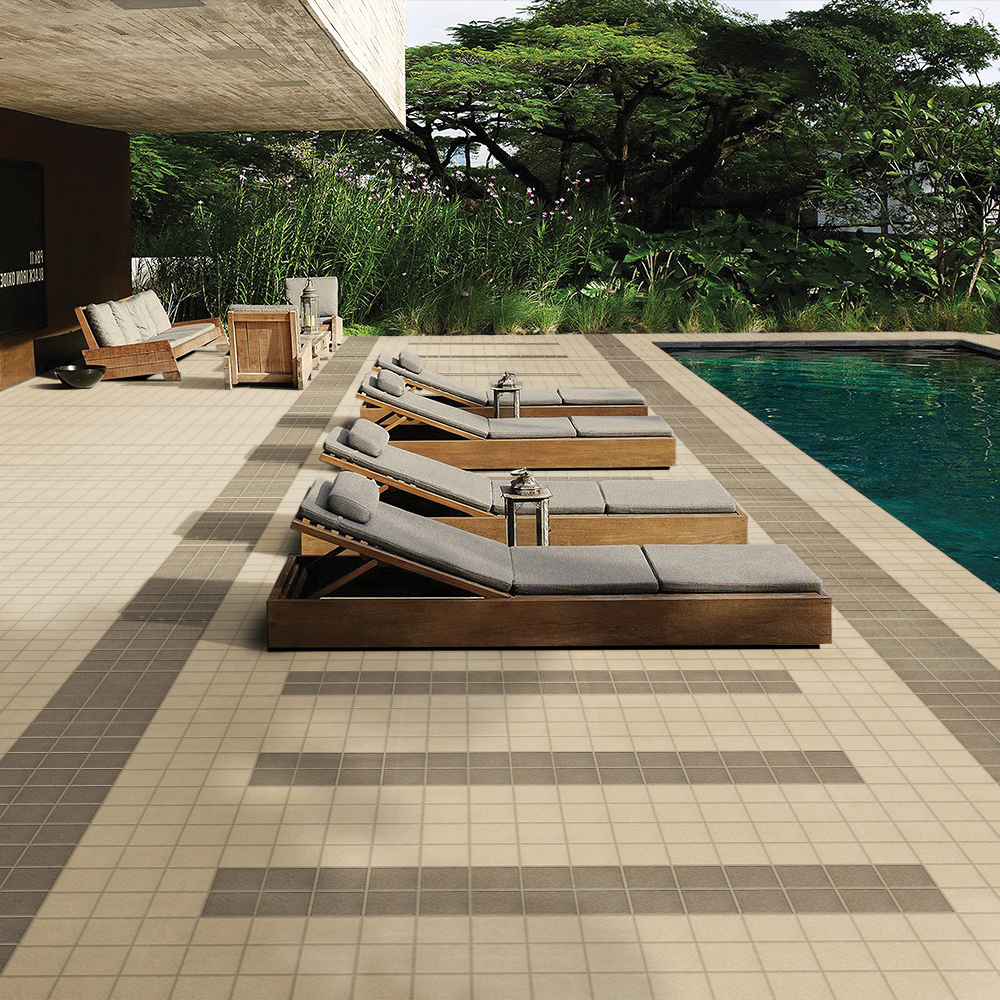 Swimming Pool Look  Tiles
