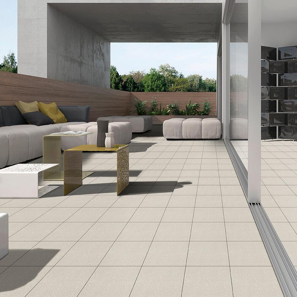Indoor-Outdoor Transition Look Tiles
