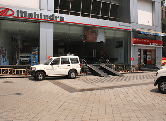 Mahindra Showroom